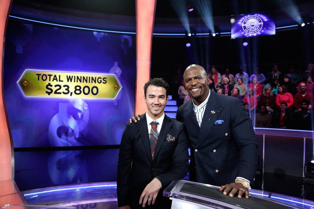 Congrats $23,800 winner @KevinJonas #JonasBrothers! Watch new #MillionaireTV w/ @terrycrews: http://t.co/ap7IgChLcs http://t.co/AcPuo9ApaB