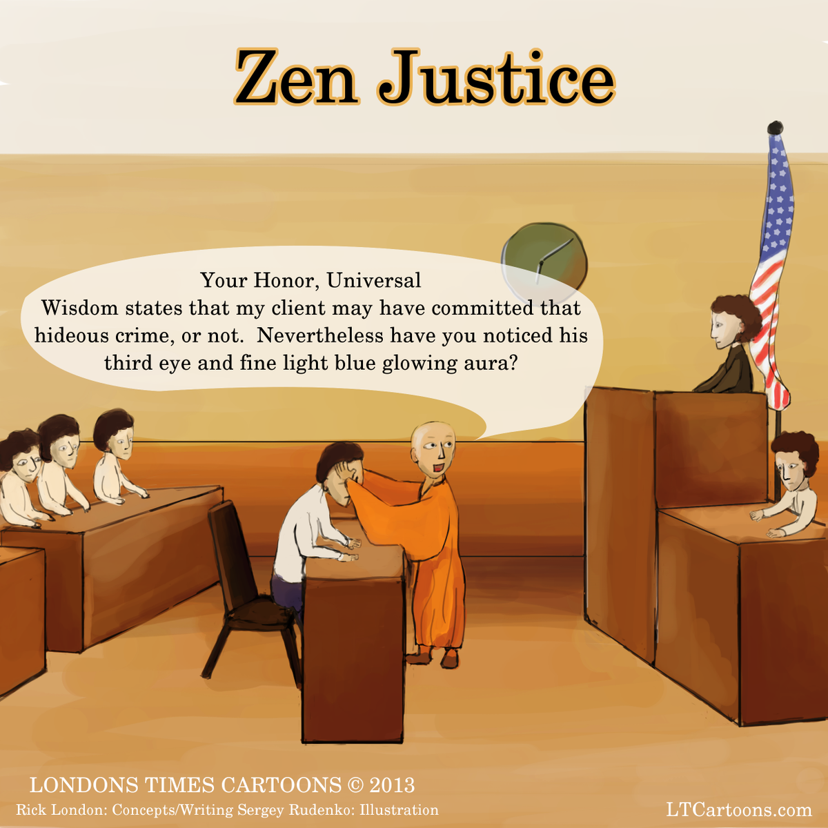 #Zen #Justice by @LTCartoons #humor #lawyers #courtroom #trials #attorneys #funny #buddhism #cartoon #comic https://t.co/TK9bhFIwrv