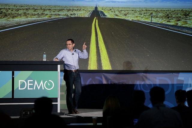 """Founder and Venture Capitalist Steve Pappa: """"Building a business is a relentless pursuit of credibility."""" #DEMO2014 http://t.co/kYo7O9FnPc"""