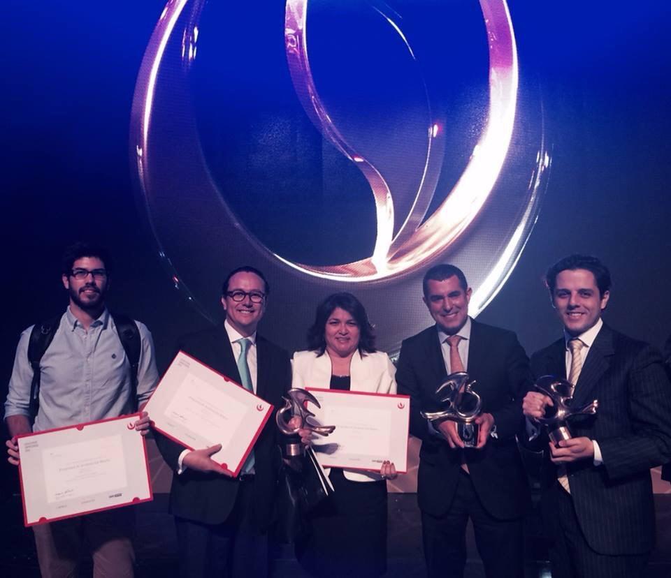 @WayraPe 3 premios q son reconocimiento al trabajo de todos ustedes q nos apoyan a crear ecosistema #startup gracias http://t.co/4LeT9Evxpl