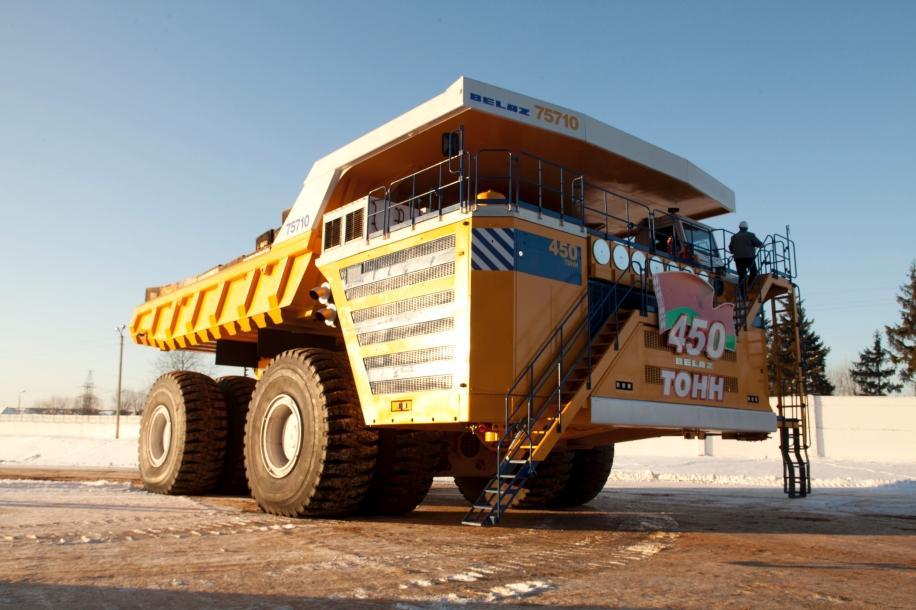 World's Largest Dump Truck >> Siemens Press Office On Twitter 500 Metric Tons Capacity