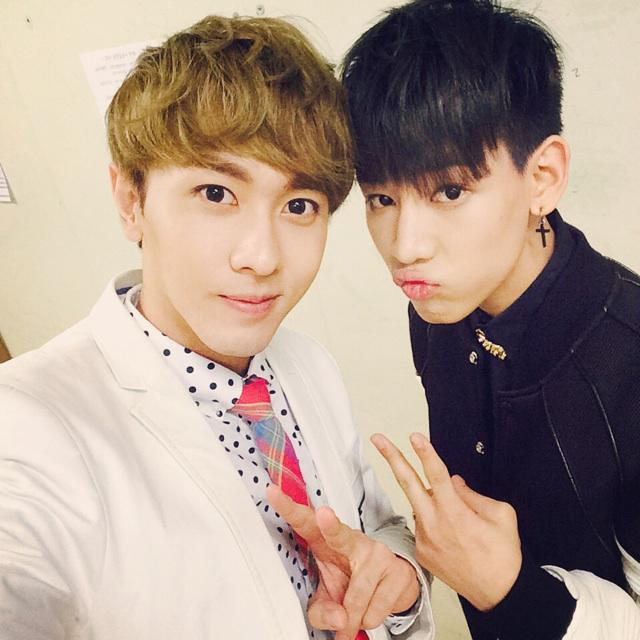 With #BAMBAM ! Congratulations on #GOT7 comeback! See you soon again! #Natthew @BamBam1A http://t.co/k2HN85gfaU