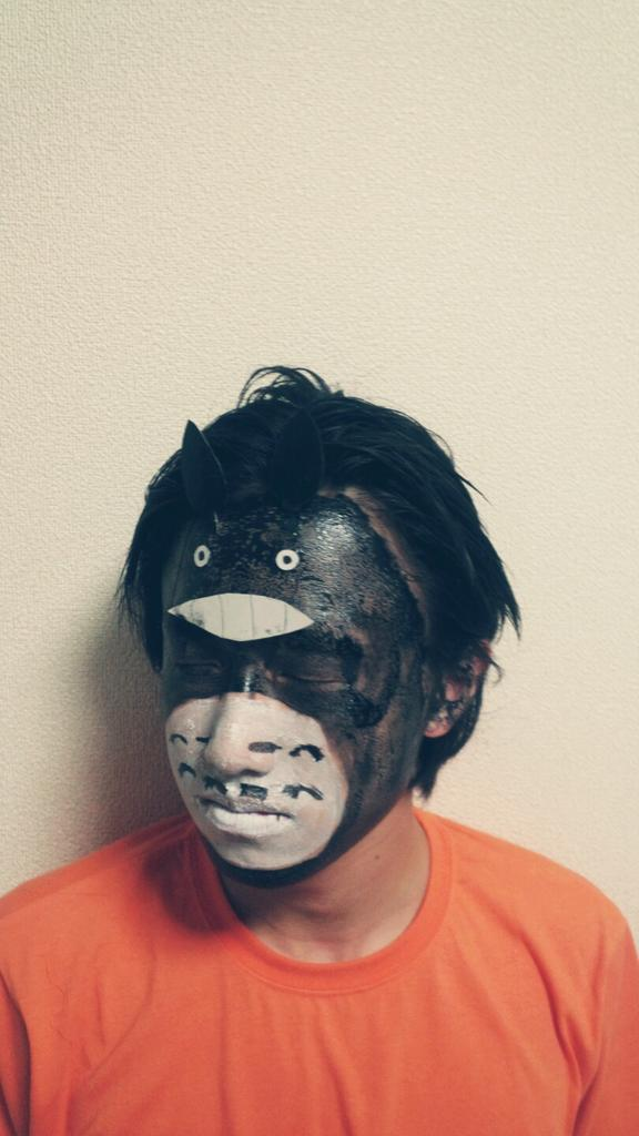 本田ゆうたろう on Twitter \u0026quot;トトロメイクしてみた! お洒落さんと繋がりたい ジブリ好きさんRT http//t.co/p0WcP3y3w4\u0026quot;