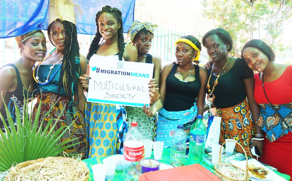 "Gabonians taking part at a school's cultural exhibition in South Africa say #MigrationMeans a ""Multicultural Society"" http://t.co/5H5yYl4APj"