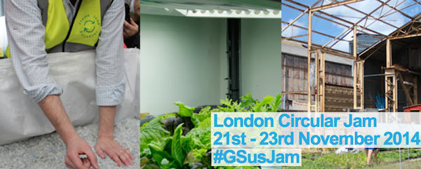 #London Circular Jam starts today at @FabLabLondon! #GSusJam @LonCircJam http://t.co/AN3pH4poqh http://t.co/PlkdFBa8Sb