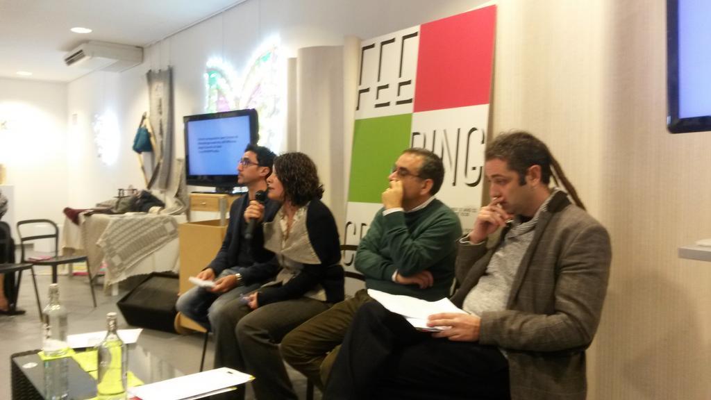 Interviene Tonia Riccio dell'Assessorato al Turismo della Regione Puglia #FeedingCreativity http://t.co/DBQBFpiRVJ