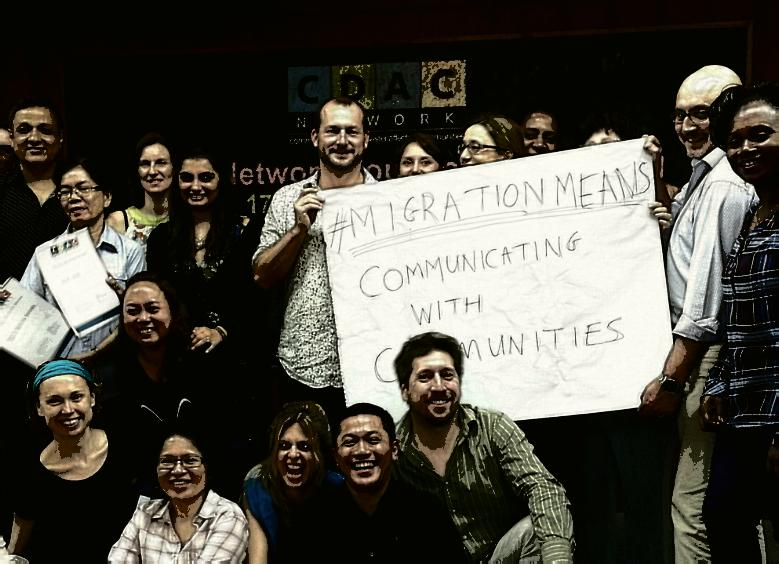 For the first #cdac #infoisaid foundation training in #Bangkok #migrationmeans Comms with comms! @IOM_news http://t.co/pnEYh2PcX6