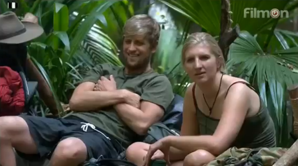 RT @KianEganWL: Exactly one year ago! Me & @BeckAdlington becoming friends in the jungle! @imacelebrity #ImACelebrity  http://t.co/4wv8ezyX…