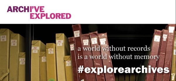 Proud to support Explore Your Archive Week this week - our records are a gift to be enjoyed by all. #explorearchives http://t.co/t5orMkLtPc