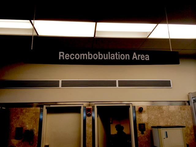 Where you go after getting discombobulated at the airport: http://t.co/b65kBnpDqD