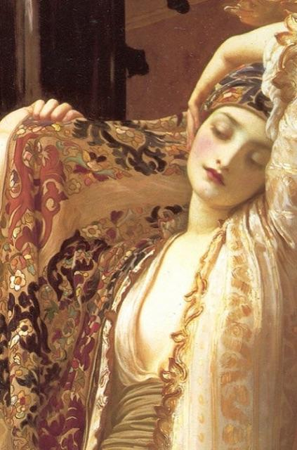 @MarthaPlimpton Detail from Light of the Harem by Frederic Leighton #SundayArtExchange http://t.co/IwwP0tASoi