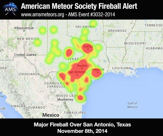 Fireball lit up Texas sky, NASA says - CNN.com