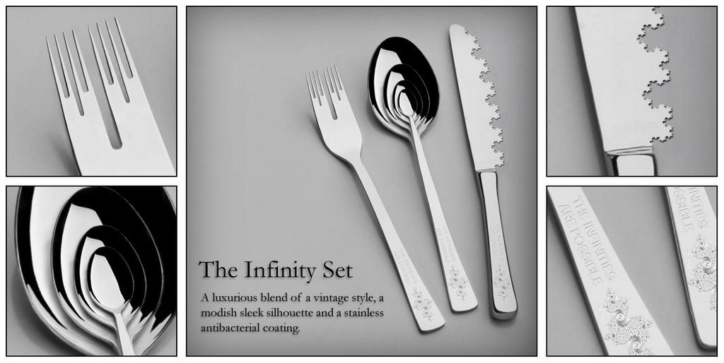 The Infinity Set: Cantor fork, recursive spoon, Koch knife via @Innella_M_A http://t.co/s1ECCdPjlN