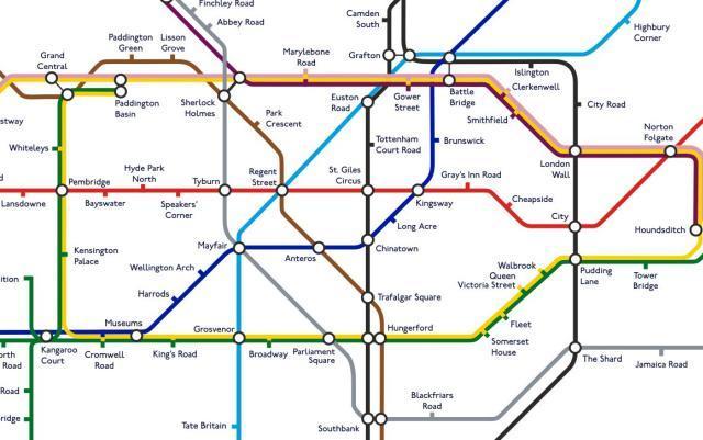 Renamed Tube stations
