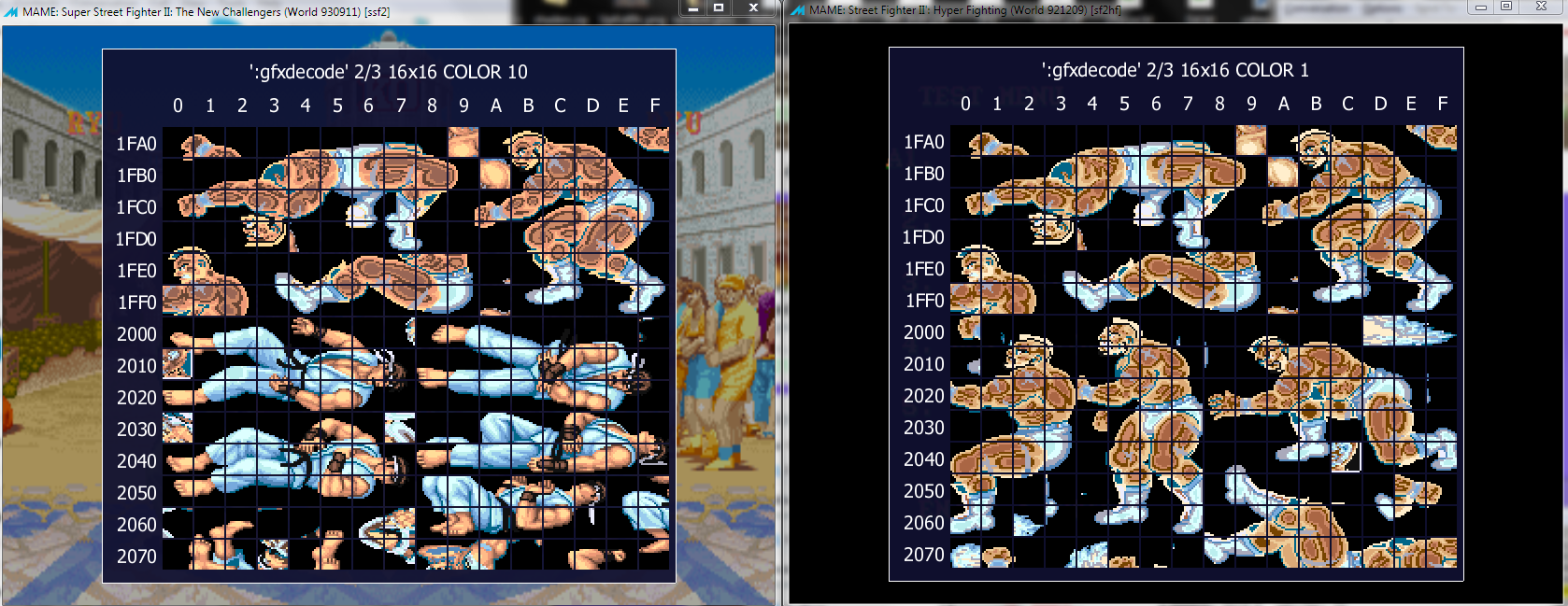 Hacking the ST rom - Super Street Fighter II Turbo