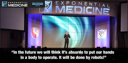 """In the future we will think it's absurde to put our hands in a body to operate!"" @NASA astronaut Dan Barry #xmed http://t.co/eo6Jj2O5Sq"