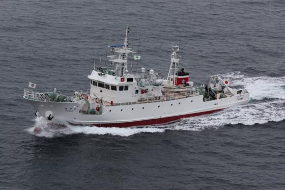 最近の漁業取締船について