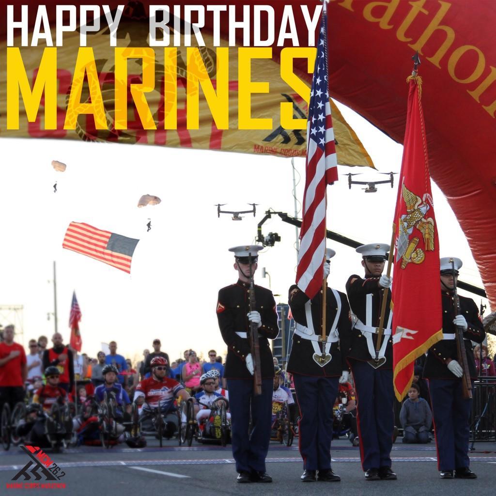 Happy 239th Birthday, Marines! http://t.co/YvbCZly8qK