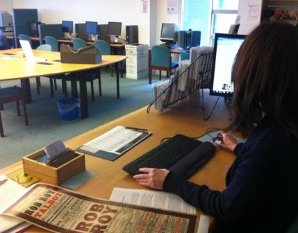 Supervising the Reading Room, answering enquiries, and cataloguing - all in a day's work! #DayInTheLife http://t.co/PRETJb8TH2