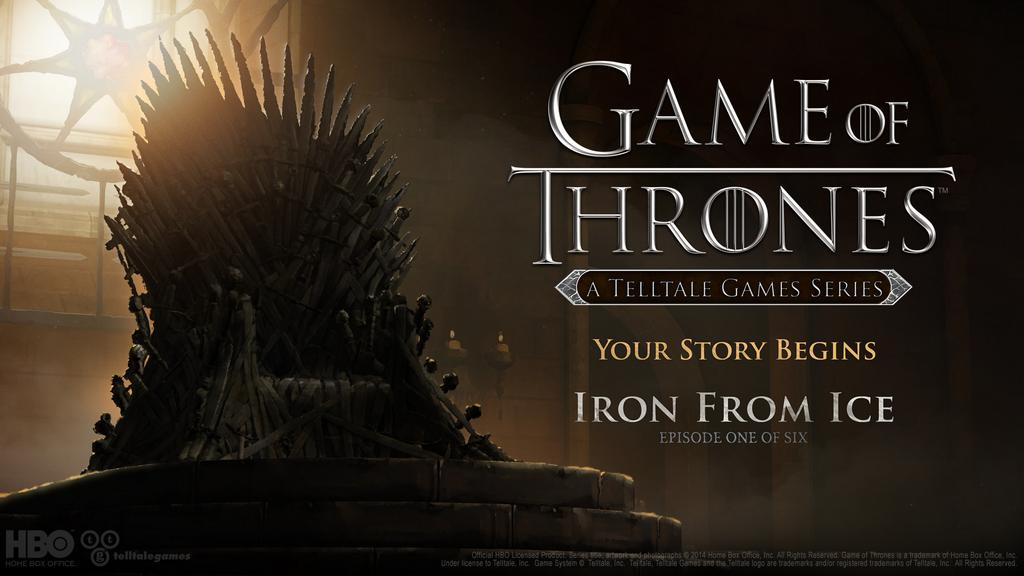 Game of Thrones От Telltale Games Thrones От Telltale Будет