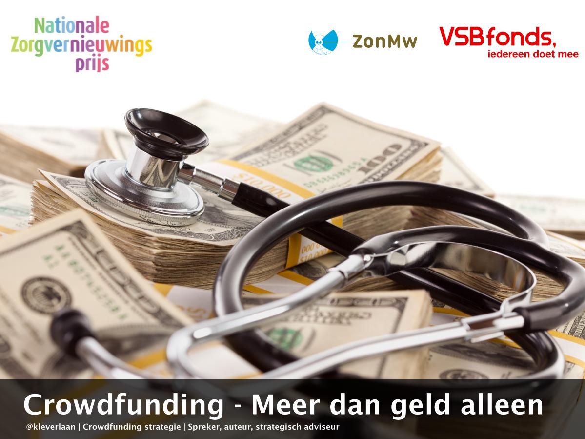 Presentatie crowdfunding @NZVP2014 van @VSBfonds en @ZonMw staat hier online: http://t.co/J7fWUhF8Uy #nzvp http://t.co/uLFw96MViR