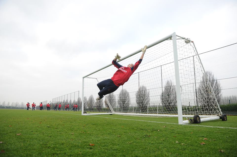 Iliev during training