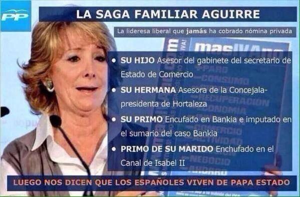 """Su hermana es asesora concejala Distrito San Blas Canillejas: @rlestebanez: CORRUPCION DE GUANTE BLANCO. http://t.co/U0FsGR0oMS"""""""