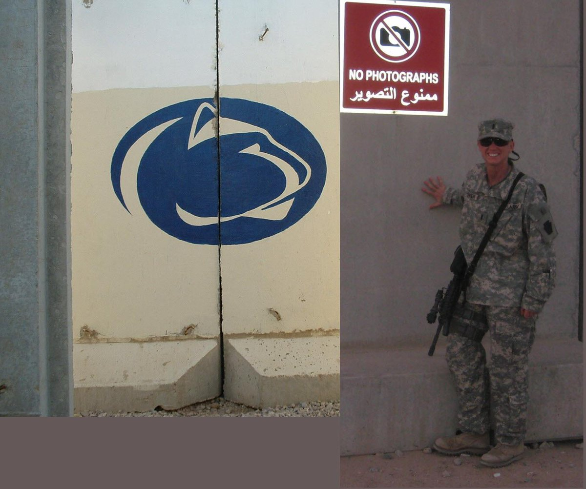 For the third year in a row, have to miss PSU Military Appreciation Day for Army duty. Go Lions!  #PSUmilitary http://t.co/LRcFULN0LC