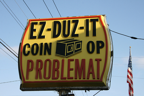 EZ-DUZ-IT COIN-OP PROBLEMAT
