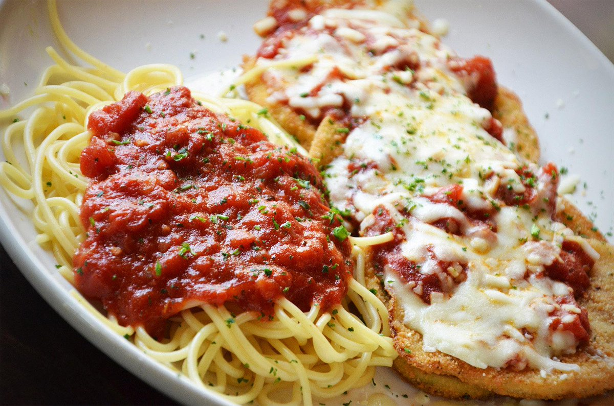 Olive Garden On Twitter Our Eggplant Parmigiana Is Hand Breaded And 100 Delicious Http T