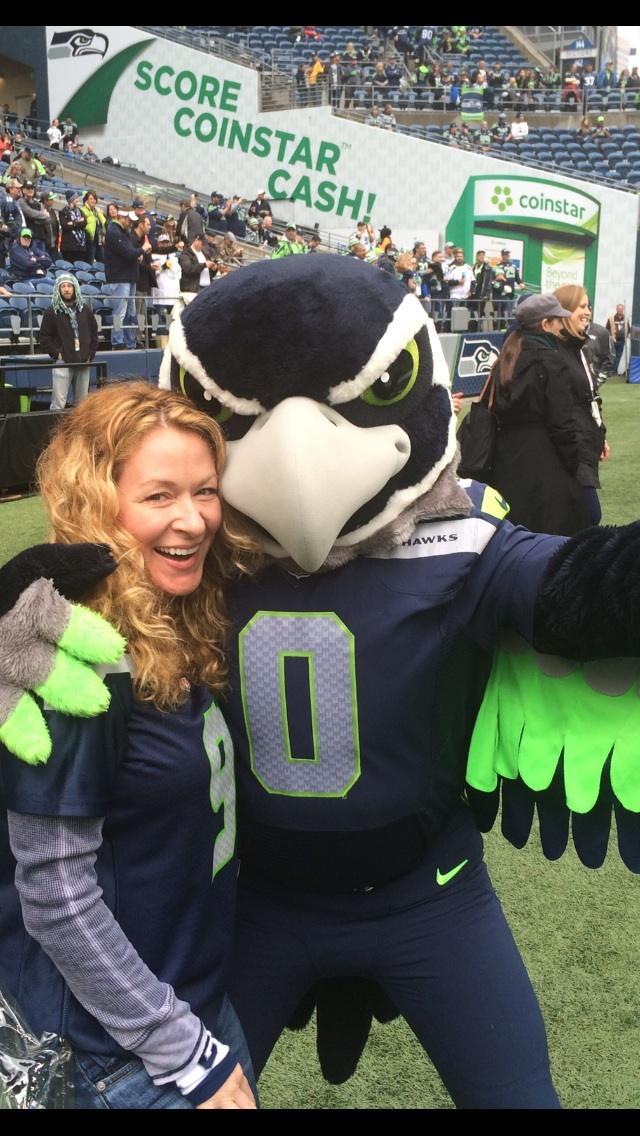 Polémica 'selfie' de la mascota de un equipo de la NFL