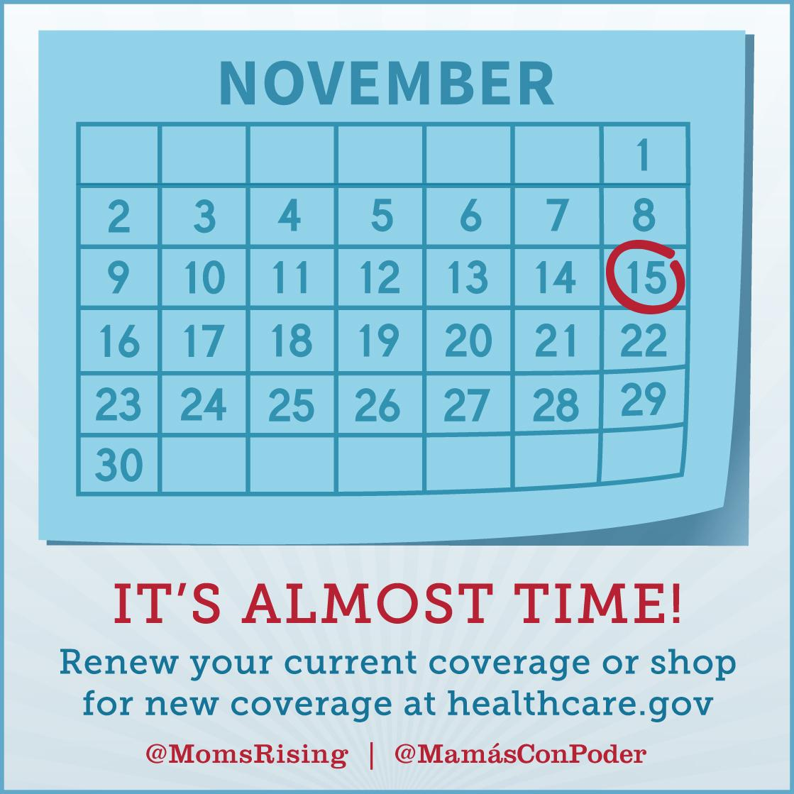 Only 5 days until open enrollment! Visit http://t.co/uxiaUfemxp to #StayCovered or #Getcovered! #MillennialMon http://t.co/TDEwrkCCb1