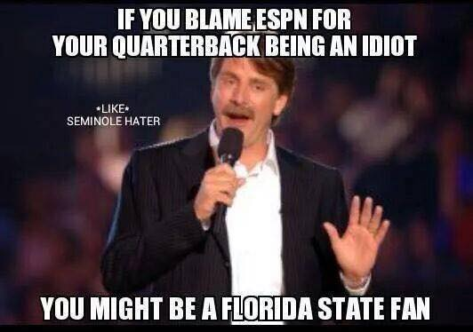 You might be a Florida State fan if ... http://t.co/FDUphVVkJs