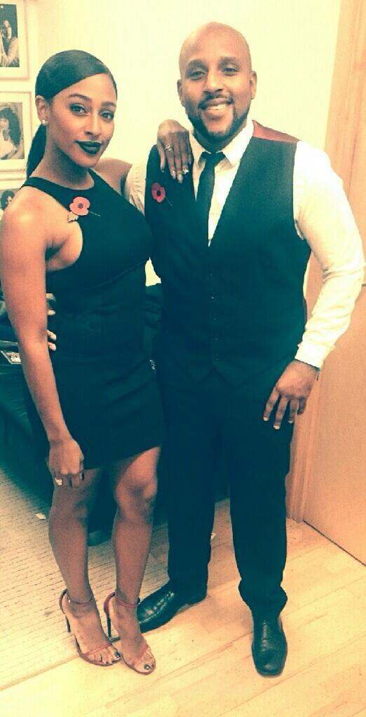 What better date for Red Carpet than @MrDavidBurke ... Still buzzin'   #FamilyFirst http://t.co/fGk13WEqR4