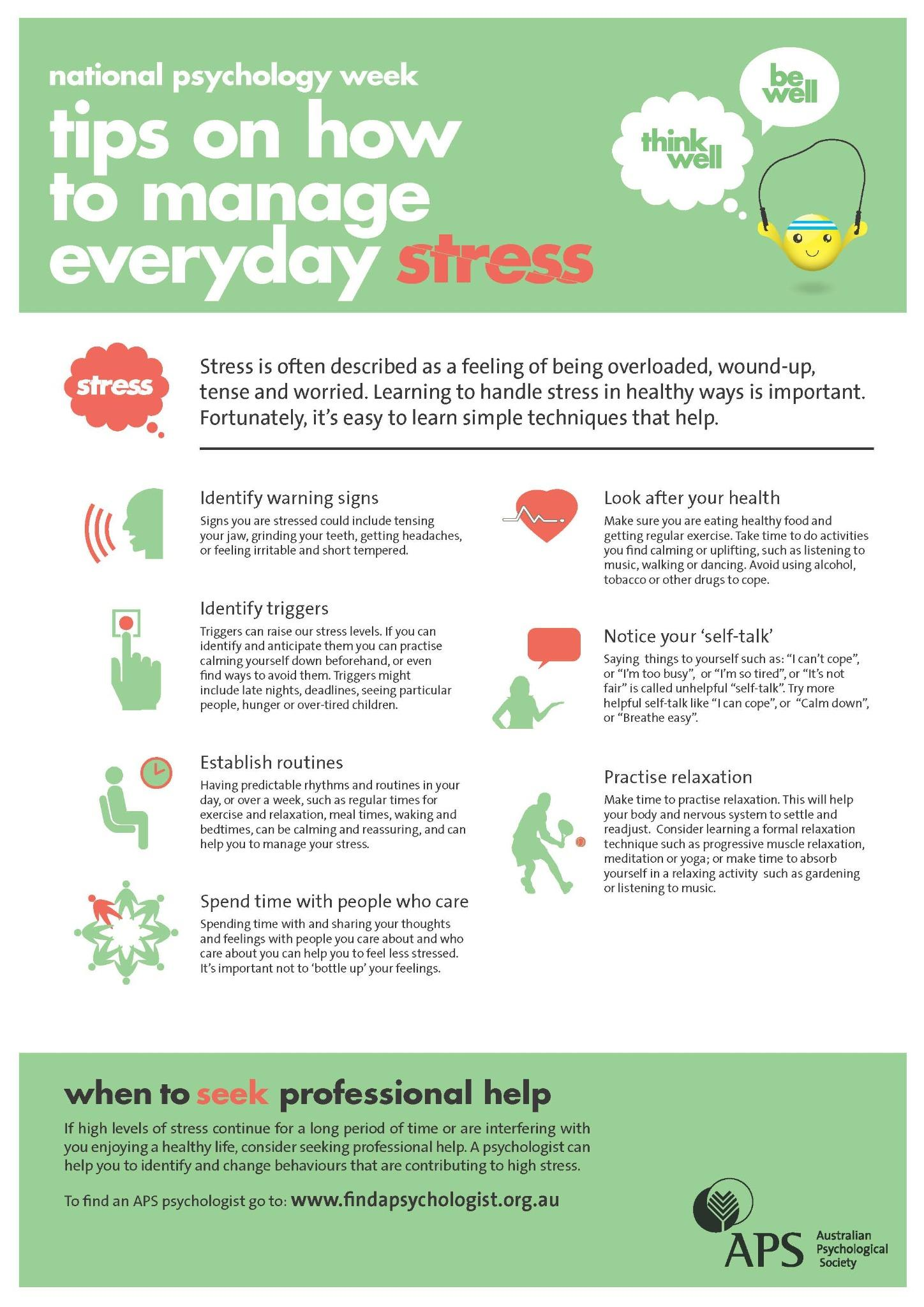 How To Talk About Drugs With Someone I Care About Australian >> Australian Psychological Society On Twitter Free Poster 7 Ways To