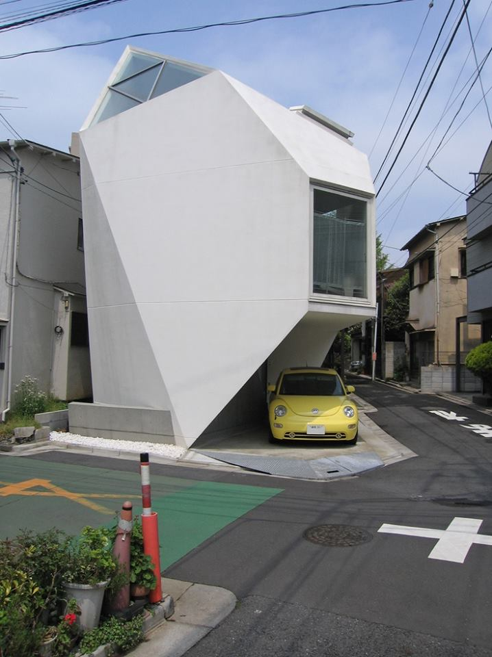 Epic modern tiny house in Tokyo, Japan. How cool is that! http://t.co/6ZINsE3QWa