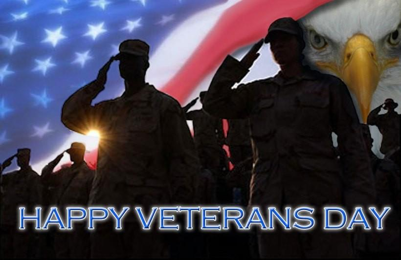Thanks to all who serve and have served.  Happy Veterans day!  Land of the free, home of the BRAVE! #GodBlessAmerica http://t.co/as0BaaT3Qc