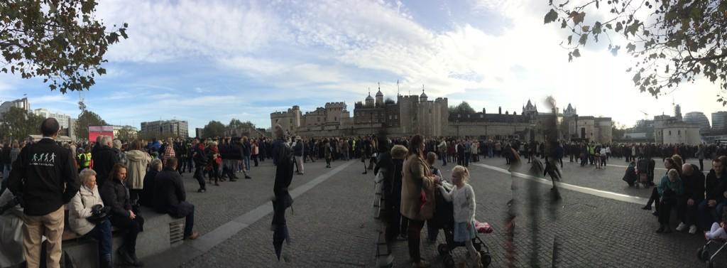 #toweroflondon #ArmisticeDay http://t.co/51YGbeLiPf