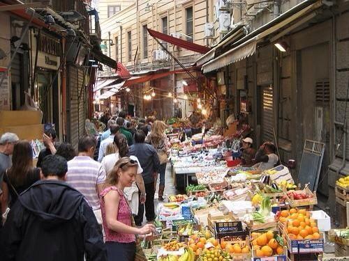 RT @CGuastella1 RT @Sicilian_Food: forgot the Vucciria di Palermo market (pic)  @TelegraphTravel best markets http://t.co/BE6UJTveil