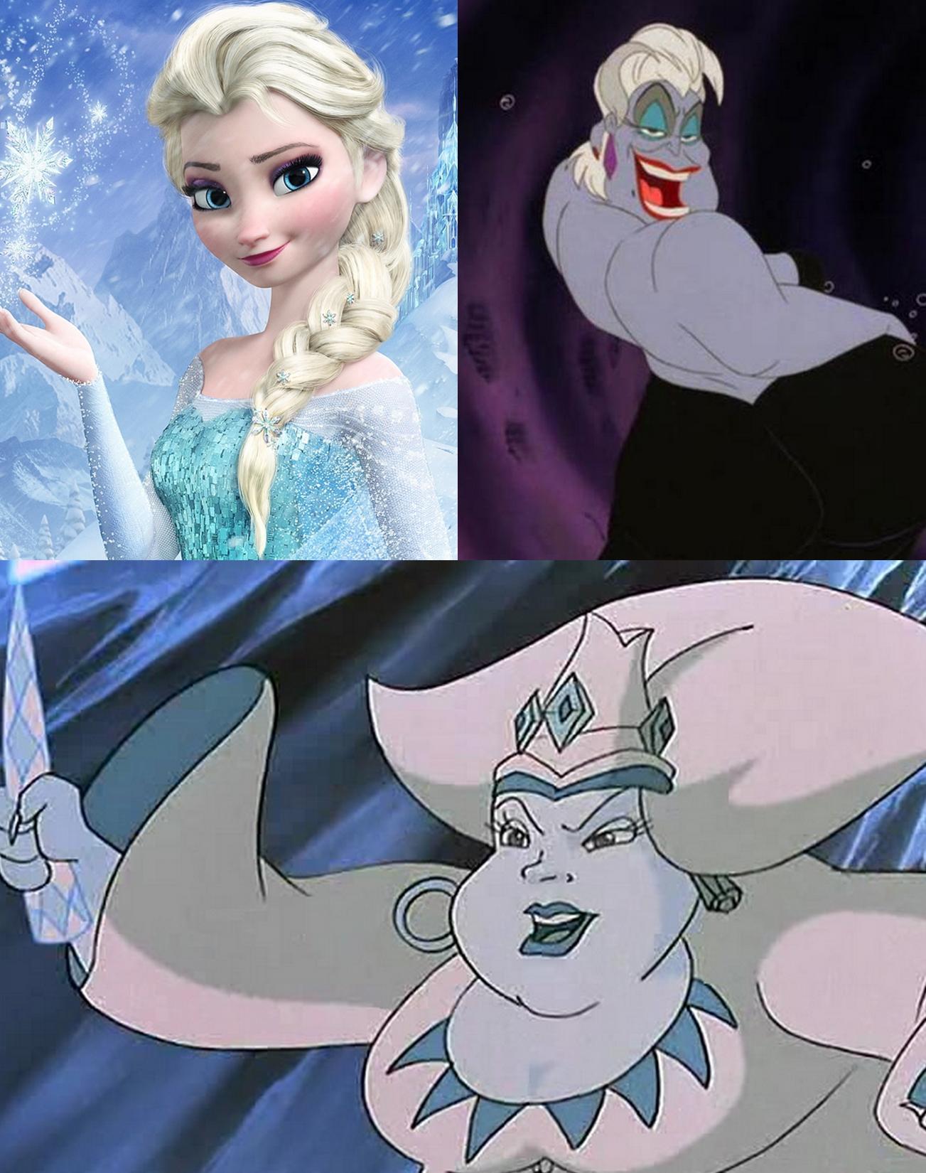 """Axel on Twitter: """"Parce que je viens de me rendre compte que Stormella n'est qu'un mélange assez improbable entre Elsa et Ursula. http://t.co/57mdxNxhe6"""""""