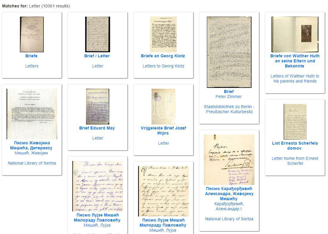 #WW1archives Explore more than 10,000 #WW1 letters from the trenches and the home front: http://t.co/W0Uxe7gteb http://t.co/kPcxLvfUaH