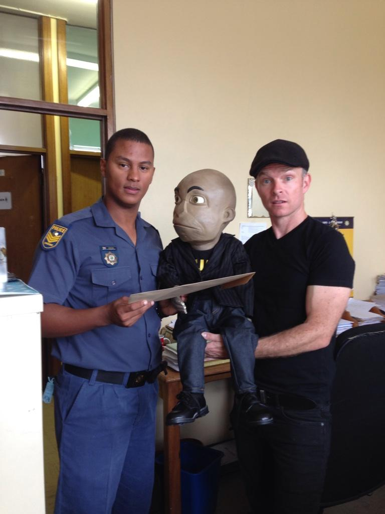 I am the first puppet in history to get served court papers. http://t.co/fKxU4EOp4h