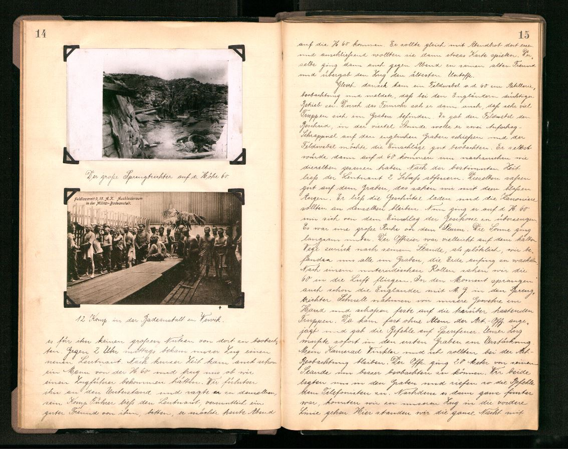 #WW1archives We have more than 2,300 #WW1 diaries in our collection. Explore them via http://t.co/XloxGY6Fas http://t.co/JbwNbChQf5