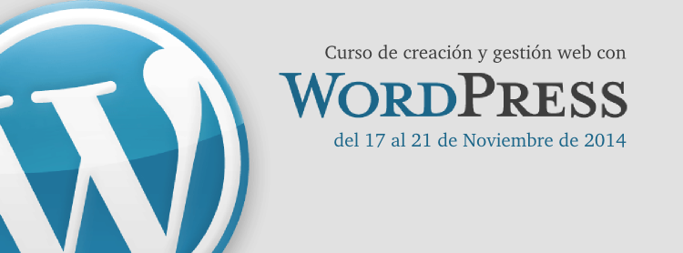 Curso: Creación y gestión web con WordPress http://t.co/HjK8PAQrpr http://t.co/Yxe9FC7Yqa