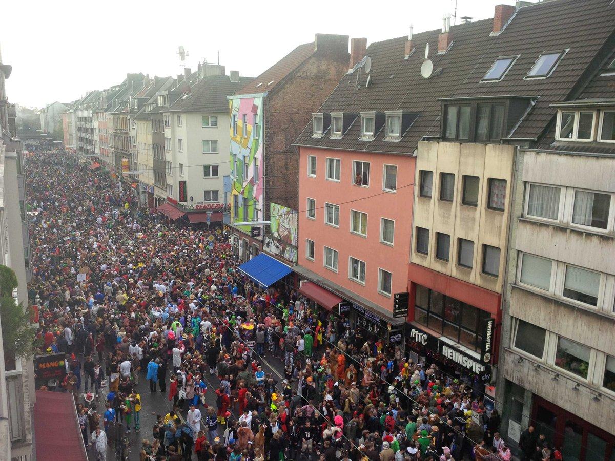 Zülpicher Straße Karneval