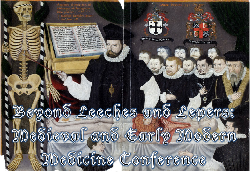 CFP: Beyond Leeches & Lepers: Medieval & Early Modern Medicine Conf. 2nd May '15, Edinburgh.  http://t.co/mylY5V676C http://t.co/p5uAGWJgbw