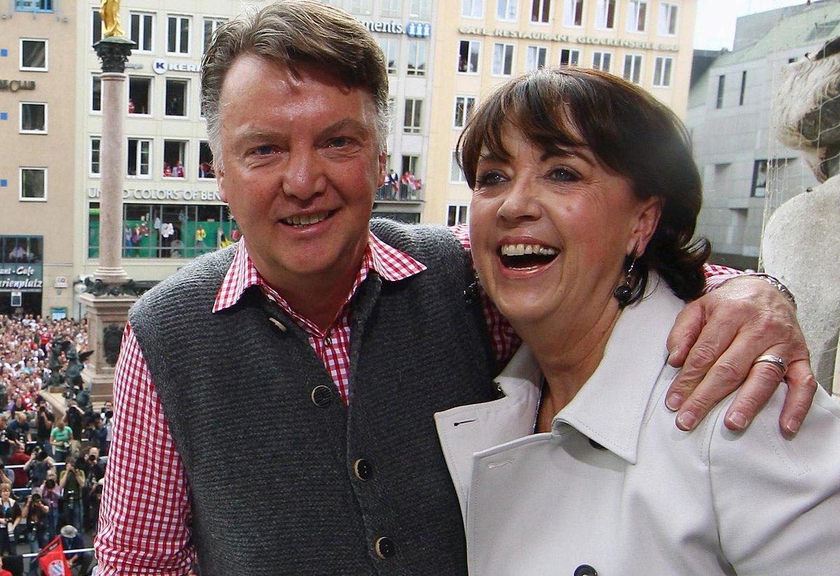 A New Book Claims Louis Van Gaal Treats His Wife