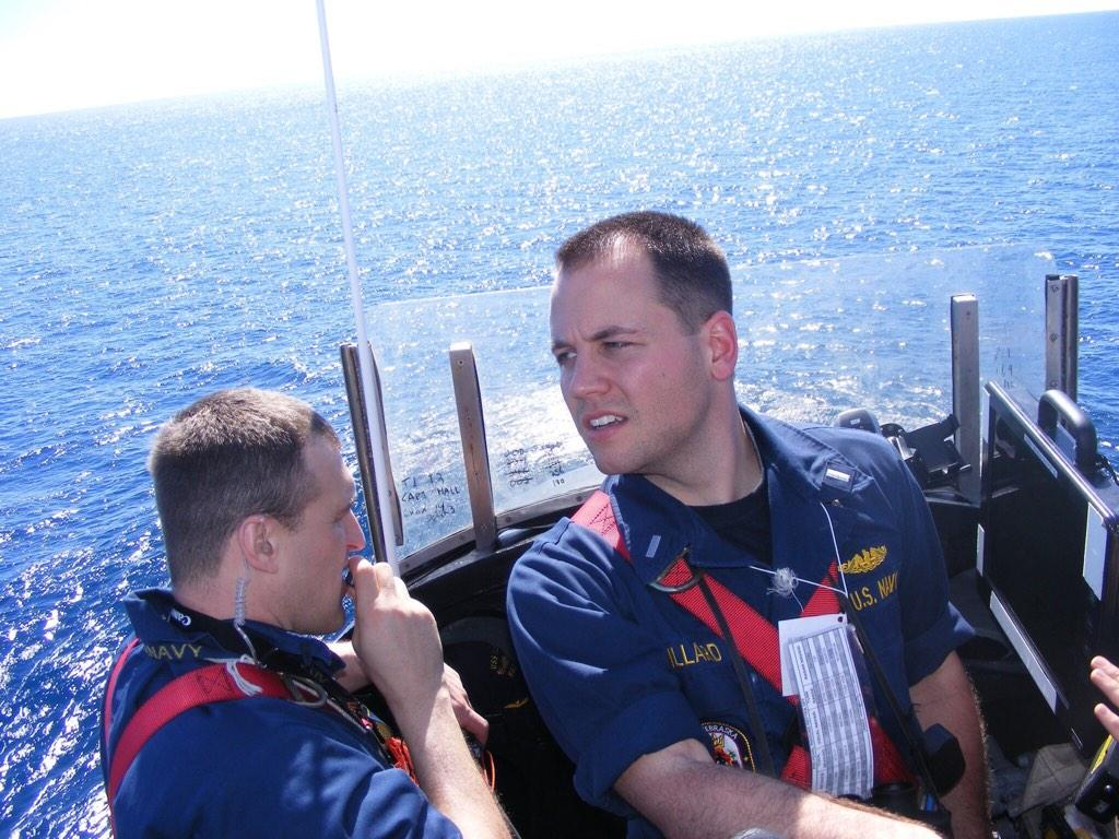 Driving the USS Nebraska, a nuclear powered ballistic missile submarine. #PSUmilitary #2006grad http://t.co/cRW8anQ92p