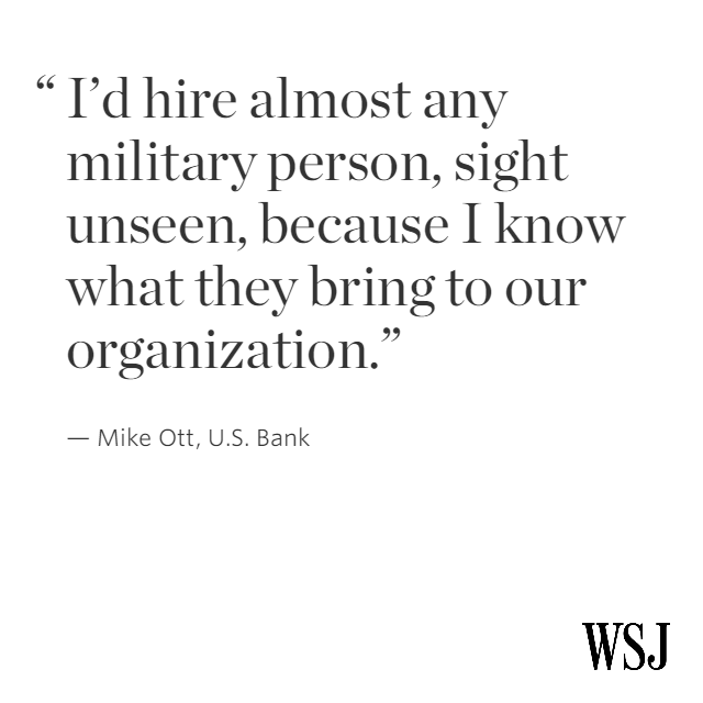 A U.S. Bank exec explains why military training prepared him for corporate life.  http://t.co/O7ecWDW5ir http://t.co/ORjnpGOno8