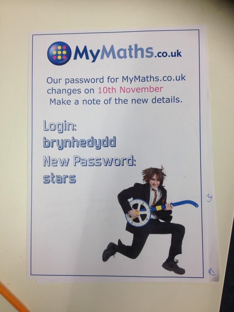"""Ysgol Bryn Hedydd on Twitter: """"#mymaths #mathsisfun MY MATHS ..."""